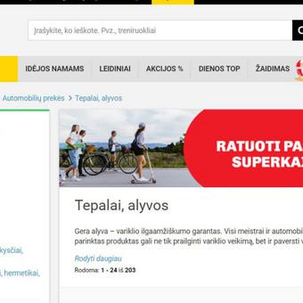 """Darbas su vienu didžiausių verslų visoje Lietuvoje - """"Senukais""""."""