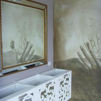 """Virtuvės baldai. Vonios baldai. Akmuo. UAB """"Forestė"""" / Dizainerė Audronė Baldai-Interjeras / Darbų pavyzdys ID 473271"""