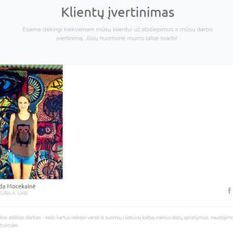 Suomių kalbos vertimai / Renata / Darbų pavyzdys ID 473285
