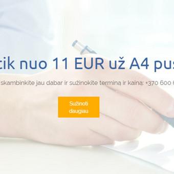 Suomių kalbos vertimai / Renata / Darbų pavyzdys ID 473287