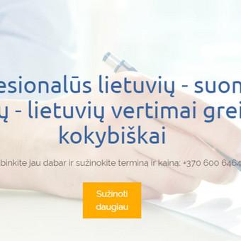 Suomių kalbos vertimai / Renata / Darbų pavyzdys ID 473289