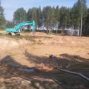 Statybinės technikos nuoma. Žemės kasimas / skaldera UAB / Darbų pavyzdys ID 473453