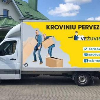 Kroviniu pervežimo,perkraustymo paslaugos / Vezu viska / Darbų pavyzdys ID 474855
