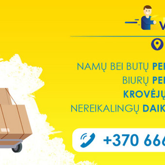 Kroviniu pervežimo,perkraustymo paslaugos / Vezu viska / Darbų pavyzdys ID 474857