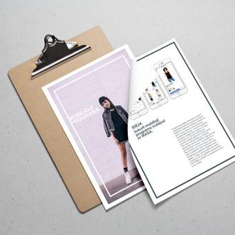Grafikos dizainerė - Logotipų kūrimas, Web dizainas / Karina Dovydenko / Darbų pavyzdys ID 475025