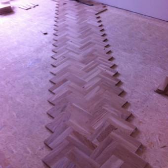 Darbai su medinėmis grindimis: klojimas, šlifavimas... / Rolandas / Darbų pavyzdys ID 475117