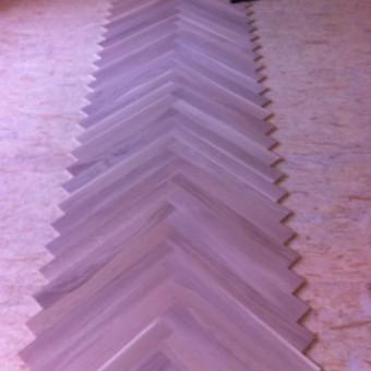 Darbai su medinėmis grindimis: klojimas, šlifavimas... / Rolandas / Darbų pavyzdys ID 475119