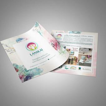 Grafikos dizainerė / Reklamos gamyba / Vita Kitova / Darbų pavyzdys ID 475379