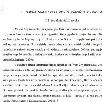 Darbų taisymas, referavimas,mokslinių šaltinių paieška / Akademinės /rašymo paslaugos / Darbų pavyzdys ID 475519