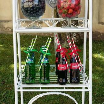 Stilingas šventinis šampano- vaišių staliukas po ceremonijos / Ramunė / Darbų pavyzdys ID 475567