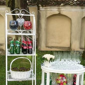 Stilingas šventinis šampano- vaišių staliukas po ceremonijos / Ramunė / Darbų pavyzdys ID 475571