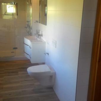 Vidaus apdaila darbai. Pilnas vonios kambario įrengimas. / Pavel / Darbų pavyzdys ID 475995