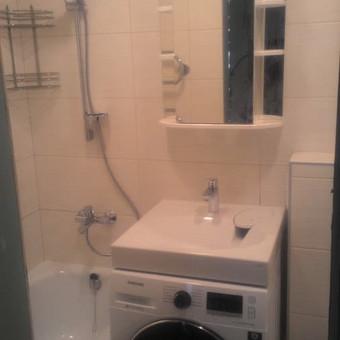 Vidaus apdaila darbai. Pilnas vonios kambario įrengimas. / Pavel / Darbų pavyzdys ID 476003