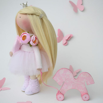 Rankų darbo lėlės / MiniMe - Interior Dolls / Darbų pavyzdys ID 476063