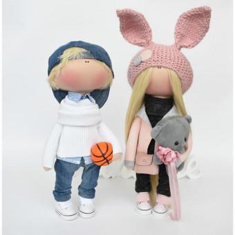 Rankų darbo lėlės / MiniMe - Interior Dolls / Darbų pavyzdys ID 476091
