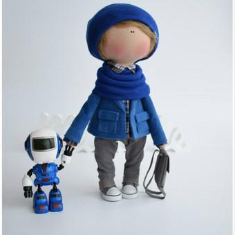 Rankų darbo lėlės / MiniMe - Interior Dolls / Darbų pavyzdys ID 476093