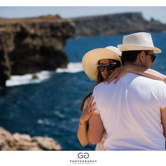 Prieš vestuvinė fotosesija Maltoje