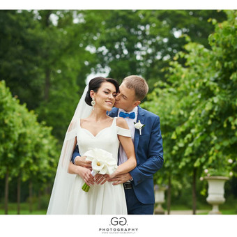 Vestuvių fotosesija Užutrakyje
