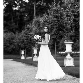 Vestuvių fotosesija Užutrakio parke