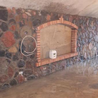 Akmenskaldys zidiniu meistras akmenu apdaila / Vidmantas Kazlauskis / Darbų pavyzdys ID 476493