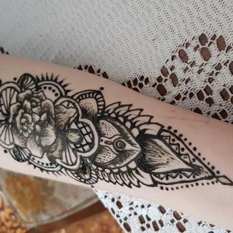 Laikinos chna - henna tatuiruotės Kaune / Karolina / Darbų pavyzdys ID 477093