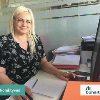 Buhalterinė apskaita, įmonių steigimas, konsultavimas / UAB Baulera / Darbų pavyzdys ID 478697