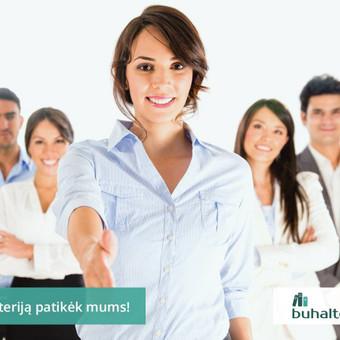 Buhalterinė apskaita, valdymo apskaita, įmonių steigimas / UAB Baulera / Darbų pavyzdys ID 478707