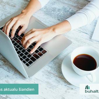 Buhalterinė apskaita, įmonių steigimas, konsultavimas / UAB Baulera / Darbų pavyzdys ID 478709