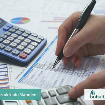 Buhalterinė apskaita, įmonių steigimas, konsultavimas / UAB Baulera / Darbų pavyzdys ID 478711