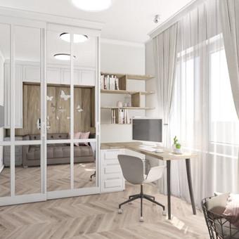Udizainas - interjero dizainas / Ugnė Stasionė / Darbų pavyzdys ID 479649