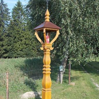 Kryžiai, koplytstulpiai, koplytėlės / Tomas Stambrauskas / Darbų pavyzdys ID 479671