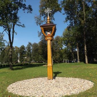 Kryžiai, koplytstulpiai, koplytėlės / Tomas Stambrauskas / Darbų pavyzdys ID 479675
