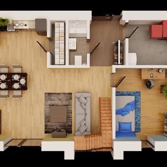 3D vizualizaciju kurimas / Mantas Pronckus / Darbų pavyzdys ID 480153