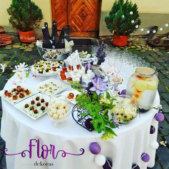 Šampano staliukas, gėlių fotosienos švenčių dekoracijų nuoma / Jurga / Darbų pavyzdys ID 480875