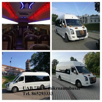 """Mikroautobusų nuoma įvairioms progoms / UAB """"Balti mikroautobusai"""" / Darbų pavyzdys ID 481027"""