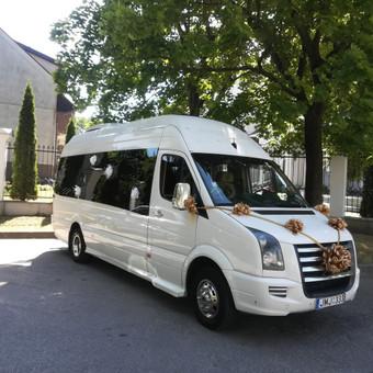 """Mikroautobusų nuoma įvairioms progoms / UAB """"Balti mikroautobusai"""" / Darbų pavyzdys ID 481033"""