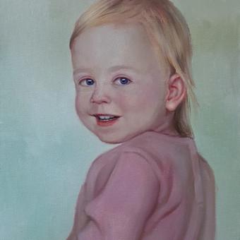 Vestuvių, krikštynų, gimtadienių portretų tapyba / Justinas Krasuckas / Darbų pavyzdys ID 481379