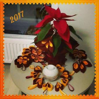 Puošmenos Šv. Kalėdų eglutei ar Šv. Velykų medeliui