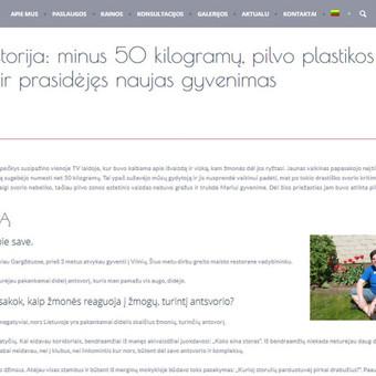 Turinio projektai verslui / Monika Žiūkaitė / Darbų pavyzdys ID 482045