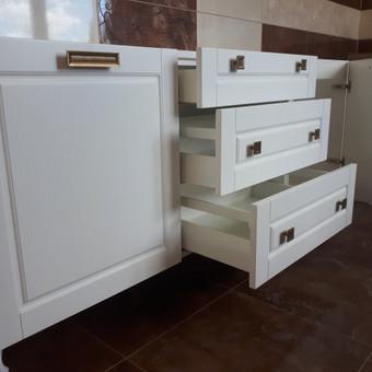 """Virtuvės baldai. Vonios baldai. Akmuo. UAB """"Forestė"""" / Dizainerė Audronė Baldai-Interjeras / Darbų pavyzdys ID 482381"""