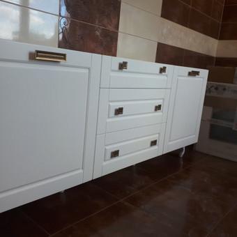 """Virtuvės baldai. Vonios baldai. Akmuo. UAB """"Forestė"""" / Dizainerė Audronė Baldai-Interjeras / Darbų pavyzdys ID 482383"""