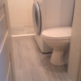 Santechnika. Šildymas. Pilnas vonios kambario įrengimas. / Michail / Darbų pavyzdys ID 482781