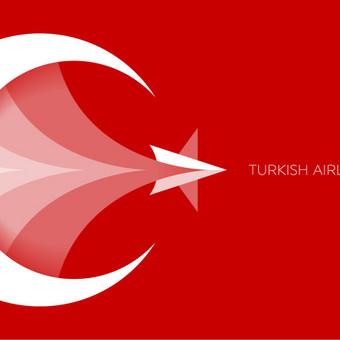 Turkish Airlines -  logo rebranding, just for fun       UNUSED / PARDUODAMAS       Logotipų kūrimas - www.glogo.eu - logo creation.