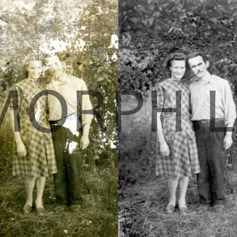 Nuotraukų restauravimas, retušavimas. / Marius Auglys / Darbų pavyzdys ID 482927