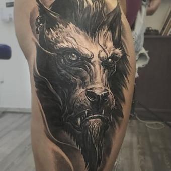 Profesionalios tattoo tik žinantiems, ko nori. / Evaldas(Mantikora) / Darbų pavyzdys ID 483161