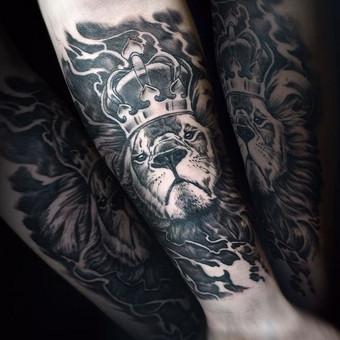 Profesionalios tattoo tik žinantiems, ko nori. / Evaldas(Mantikora) / Darbų pavyzdys ID 483171