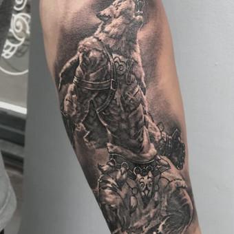 Profesionalios tattoo tik žinantiems, ko nori. / Evaldas(Mantikora) / Darbų pavyzdys ID 483179