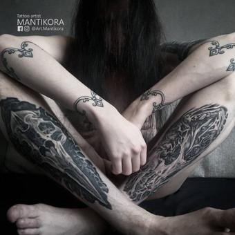 Profesionalios tattoo tik žinantiems, ko nori. / Evaldas(Mantikora) / Darbų pavyzdys ID 483217