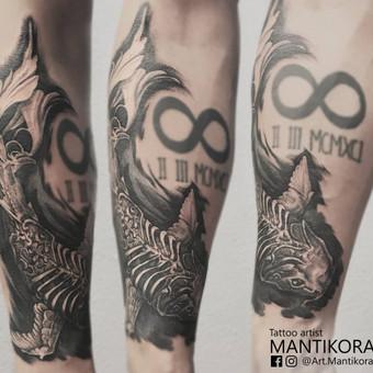 Profesionalios tattoo tik žinantiems, ko nori. / Evaldas(Mantikora) / Darbų pavyzdys ID 483219