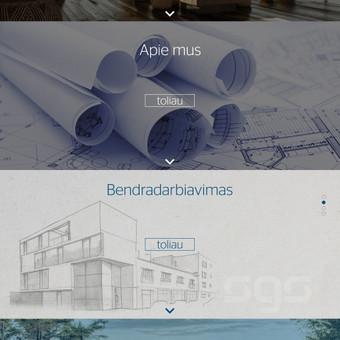 Internetinių svetainių kūrimas Vilniuje / Bona Solutions / Darbų pavyzdys ID 70433